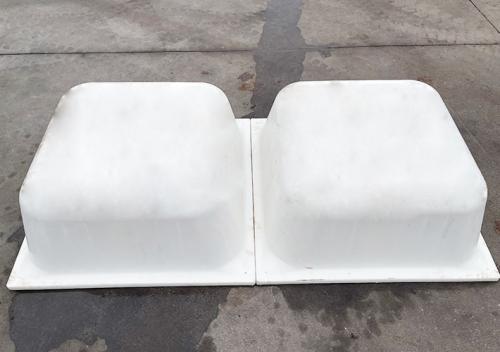 威海白色塑料模壳